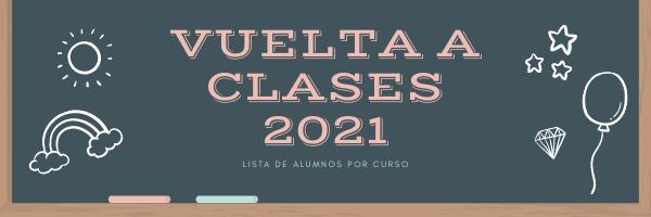 vuelta a clases 2021